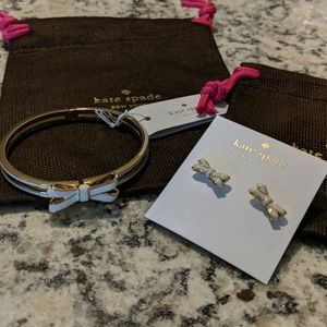 Kate Spade Cream Bracelet and Earring Set